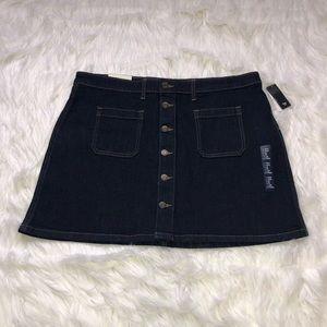Plus size Denim skirt NWT